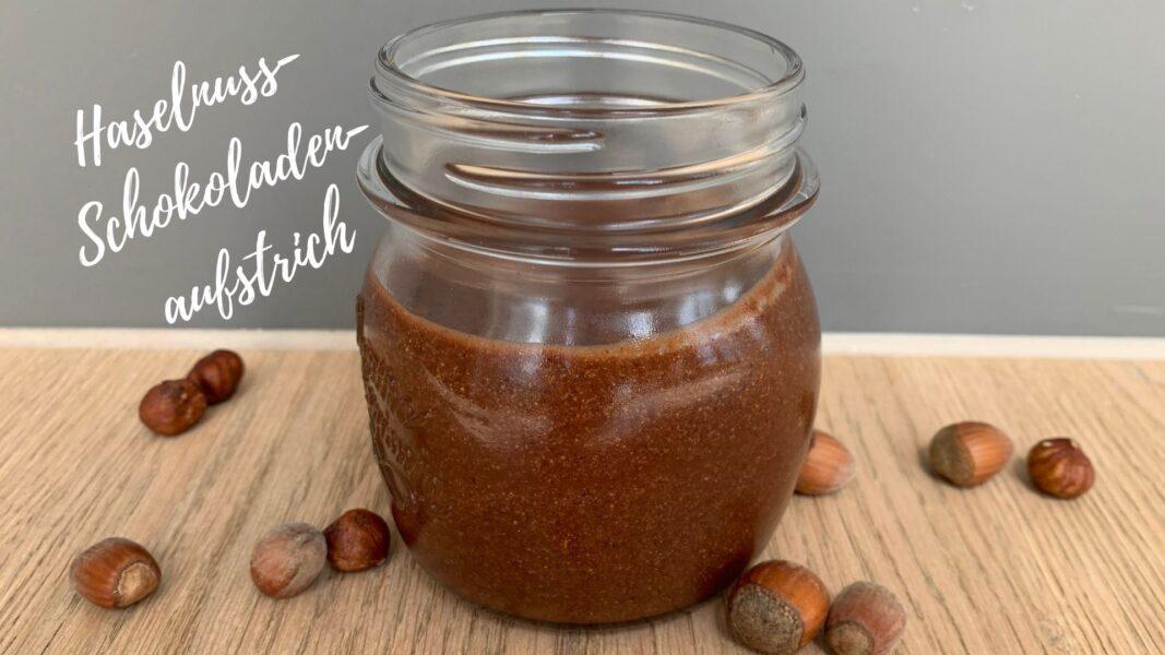 Haselnuss-Schokoladen-Aufstrich ohne Zucker